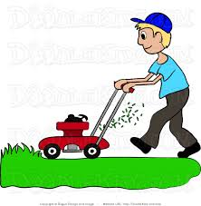 cutting grass clipart clipartfest boy mowing the lawn in landscaping clipart clipart