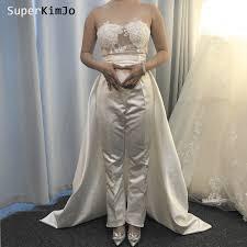 <b>SuperKimJo</b> Detachable Skirt Wedding Dresses 2020 <b>Mermaid</b> ...