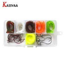 <b>KASSYAA</b> 10 <b>100pcs</b> 35mm 0.24g Soft Red Earthworm Lure Fishing ...