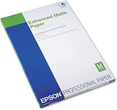 Epson Enhanced Matte Paper 50 sheets (S041343 ... - Amazon.com