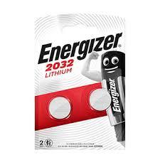 <b>Батарейка</b> литиевая 3V <b>CR2032</b>, <b>Energizer</b>, 2 шт., Индонезия ...