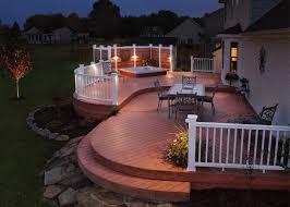classic lighting patio