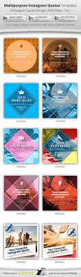 multipurpose instagram quotes banner templates by belegija multipurpose instagram quotes banner templates banners ads web elements