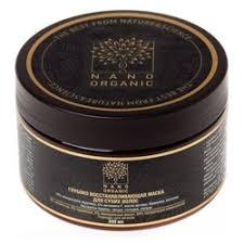 Восстанавливающая <b>маска для сухих</b> волос, 300 мл, Nano Organic