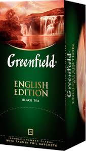 <b>Чай черный GREENFIELD English</b> edition байховый цейлонский к ...