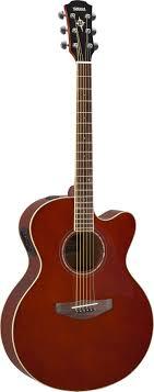 <b>Электроакустическая гитара Yamaha CPX600</b> RB в Минске ...