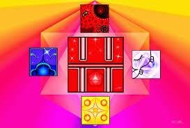 Resultado de imagen para caminante del cielo cristal rojo calendario maya