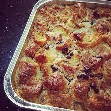 Bread & butter pudding con chips de chocolate (Receta) - Dulces con Alma
