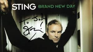 Autographed <b>Sting Brand New</b> Day CD