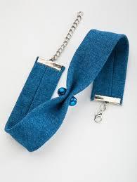 Джинс <b>чокер</b> синий | Вязаная бижутерия, Аксессуары и Джинсы