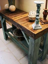 reclaimed pallet table entry table sofa table reclaimed wood furniture on etsy buy pallet furniture 4