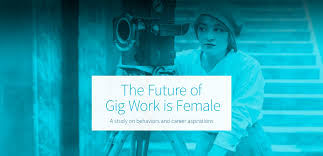the future of gig work is female