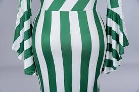 2019 <b>Misshow 6xl Plus Size</b> Flare Sleeve Women Bodycon Dress ...