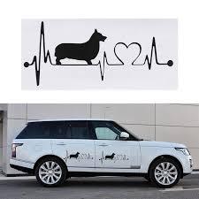 <b>Cute Corgi</b> Dog Bread Funny Lion Vinyl Decal Wall Decor Car ...