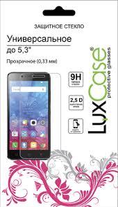 """Купить <b>Защитное стекло LuxCase</b> универсальное 5.3"""" 0.33mm ..."""