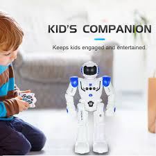 Hot sale HT9930 1 Intelligent Programming RC Robot Gesture ...