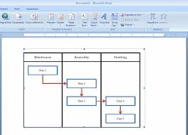 how to embed an excel flowchart in microsoft word   breezetreemanipulating the inserted excel file