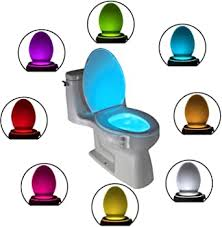The Original <b>Toilet</b> Bowl Night <b>Light</b> Gadget Funny LED <b>Motion</b> ...