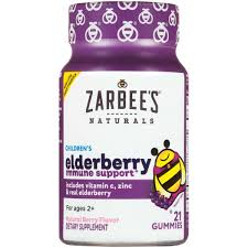 Zarbee's Naturals - <b>Children's Elderberry Immune Support</b> Gummies