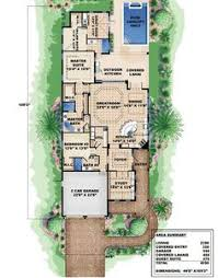 images about Playa Tacna on Pinterest   Small House Plans    Plan W WE  Narrow Lot  Cottage  Florida  Beach House Plans  amp  Home Designs