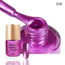 <b>9ML</b> Purple Metallic Lacquer <b>Nail</b> Polish Mirror Effect <b>Nail</b> Varnish 010