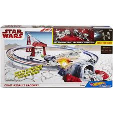<b>Hot Wheels Star Wars</b>: The Last Jedi Crait Assault Raceway, Track Set