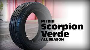 <b>Pirelli Scorpion Verde ALL</b> SEASON - Tyre of the week - YouTube