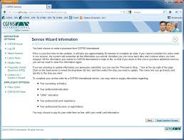 credentials evaluation service academic report® cgfns step 2 begin service wizard