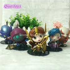 Anime LOL Toys <b>Leona Jax</b> Khazix <b>Gragas Jinx</b> PVC Action Figures ...