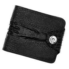 Purse Men Wallet Wear Resistant <b>Magnetic Buckle Retro</b> Exquisite ...