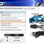 Aparecieron especificaciones Sapphire Radeon RX 590 NITRO + Edición especial