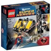Конструктор <b>LEGO DC Super</b> Heroes 76002 Супермэн: схватка в ...