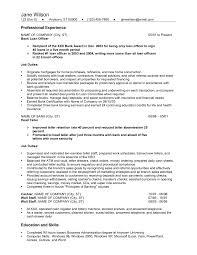 bank teller job description for resume   job resume    entry level bank teller resume sample
