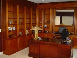 a complex mahogany desk bookshelves home office bookcases for home office