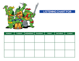 discipline charts for kids adults blendra listeningchart boy 01 listeningchart girl 02