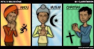 Image result for hindu christian muslim