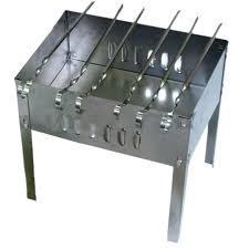 Купить <b>мангал Boyscout</b> 350х250х350 мм, сборный + 6 шампуров ...