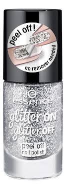 Купить <b>лак для ногтей Glitter</b> On Glitter Off 8мл essence, покрытия ...