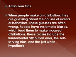 Image result for error fundamental attribution