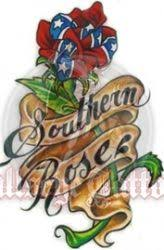 <b>Southern Rose Tattoo</b> by Jackie (With images) | Bullseye tattoo ...