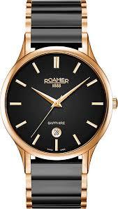 Купить Мужские швейцарские наручные <b>часы Roamer</b> 657.833 ...