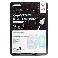 MBeauty <b>Голографическая серебряная маска</b> для лица с ...