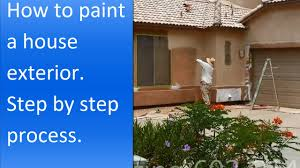 dayhow paint concrete how to paint exterior of a stucco house