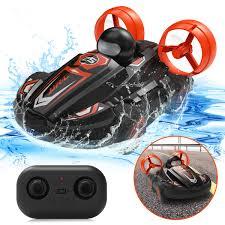 <b>JJRC Q86</b> RC Stunt Car Water Land 2 in 1 Car Boat Waterproof ...