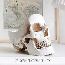 <b>Органайзер для мелочей</b> '<b>Skull</b>' / Белый | Органайзер, Мелочи и ...