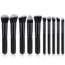 <b>10 Pcs makeup brushes</b> Portable Multifunctional Soft <b>Makeup Brush</b> ...