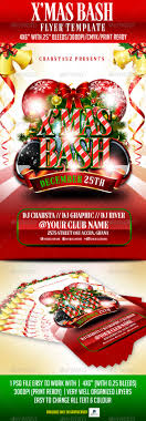x mas bash flyer template by crabsta52 graphicriver x mas bash flyer template flyers print templates