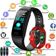 <b>LIGE 2019 New Women</b> Smart Wristband Blood Pressure Watch ...