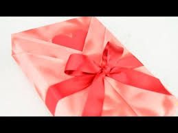 Kimono Style Japanese <b>Gift Wrapping</b> with a Heart Shaped ...