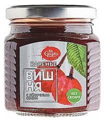 <b>Варенье te Gusto</b> из <b>вишни</b> с яблочным соком, банка 300 г ...